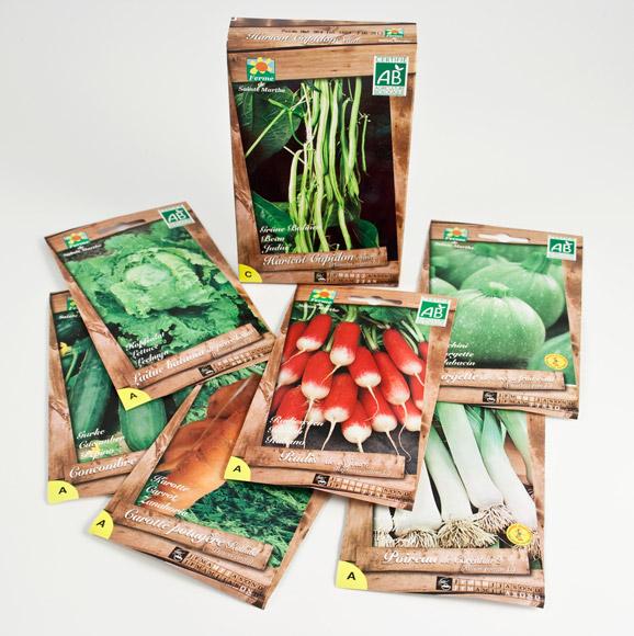 premiers achats de plants et de graines un potager bio. Black Bedroom Furniture Sets. Home Design Ideas